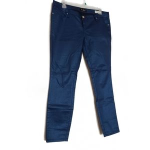 Guess Metallic Blue Jeans